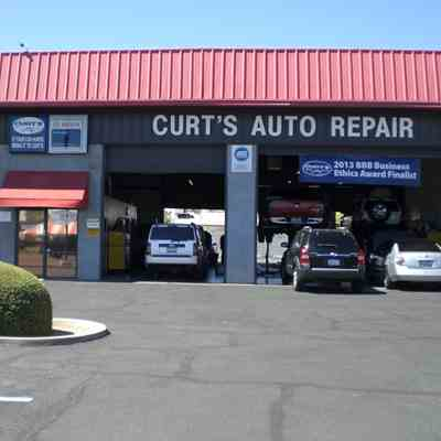Curts Auto Repair Store Front