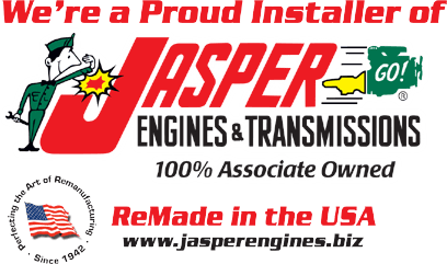 Proud Installer of Jasper Engines